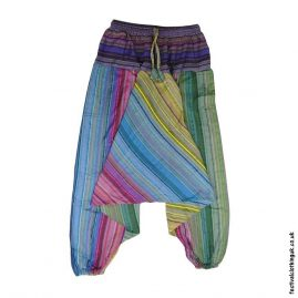 Multicoloured-Harem-Ali-Baba-Festival-Pants