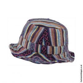 Multicoloured-Striped-Gheri-Cotton-Festival-Sun-Hat