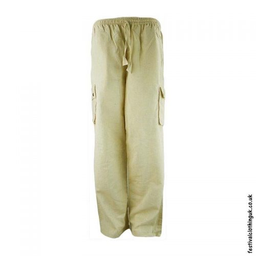 Plain-Festival-Cargo-Trousers-Cream