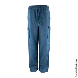 Plain-Festival-Cargo-Trousers-Teal