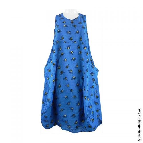 Turquoise-Bee-Festival-Dress