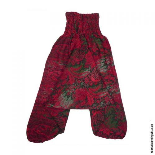 Multicoloured-Acrylic-Ali-Baba-Harem-Festival-Trousers