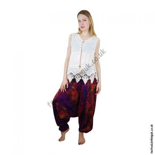 Multicoloured-Acrylic-Ali-Baba-Harem-Festival-Trousers-Example