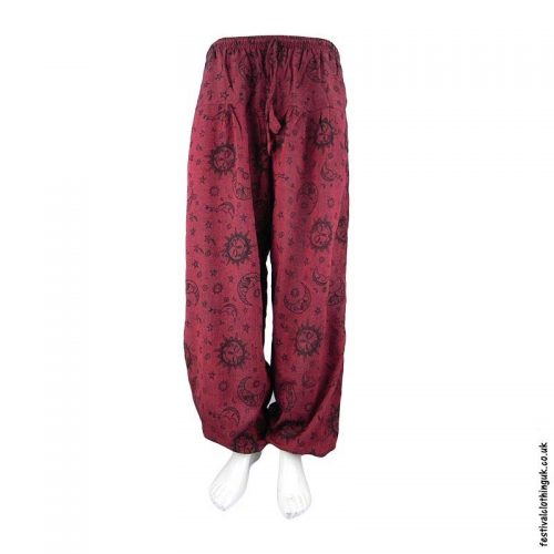 Red-Sun-and-Moon-Harem-Festival-Trousers