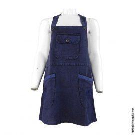 Short-Festival-Dungaree-Dress-Blue