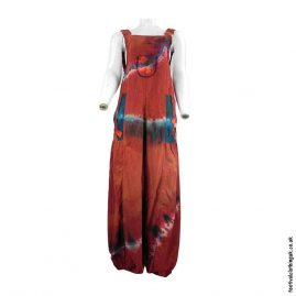 Tie-Dye-Festival-Dungarees-Red