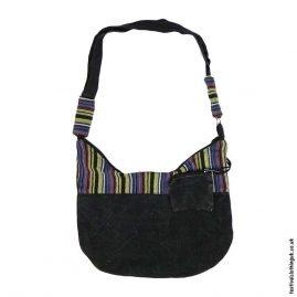 Black-Stonewashed-Cotton-Shoulder-Bag