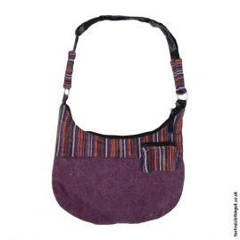 Burgundy-Stonewashed-Cotton-Shoulder-Bag