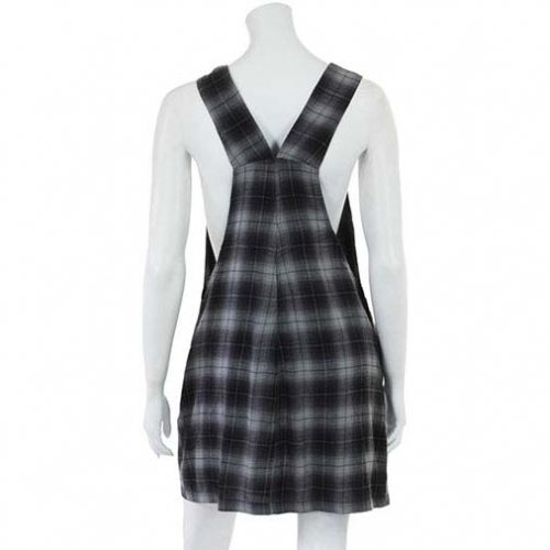 Checkered-Dungaree-Festival-Dress-Back-Example
