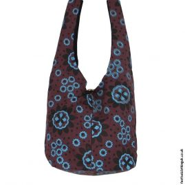 Funky-Pattern-Shoulder-Bag-Brown