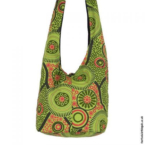 Funky-Pattern-Shoulder-Bag-Green