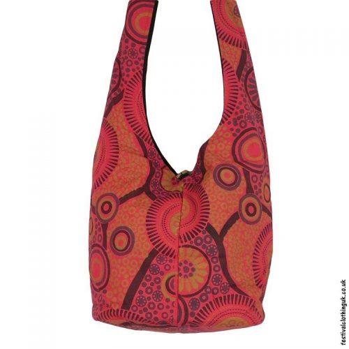 Funky-Pattern-Shoulder-Bag-Red