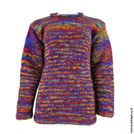 Purple-Space-Dye-Wool-Jumper