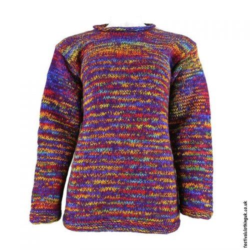 Purple-Space-Dye-Wool-Jumper