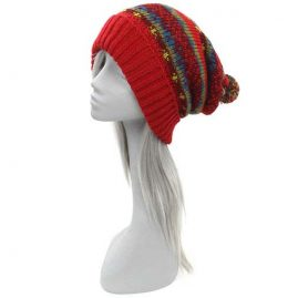 Red-Festival-Wool-Bobble-Hat