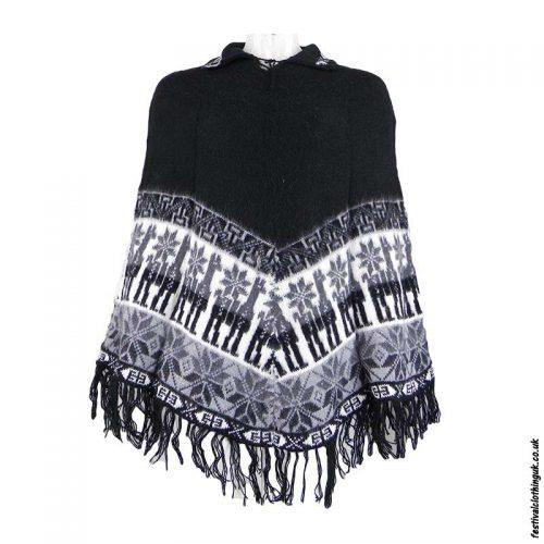 Black-Alpaca-Wool-Poncho
