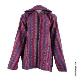 Multicoloured-Paisley-Festival-Blanket-Jacket