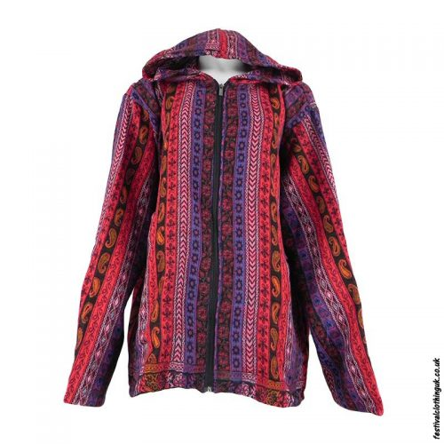 Multicoloured-Paisley-Festival-Blanket-Jacket