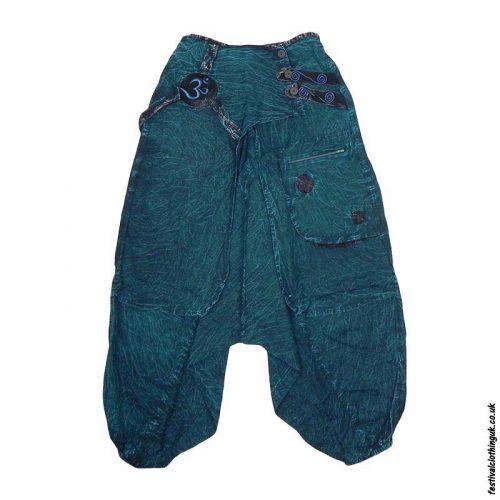 Teal-Om-Layer-Harem-Ali-Baba-Pants-