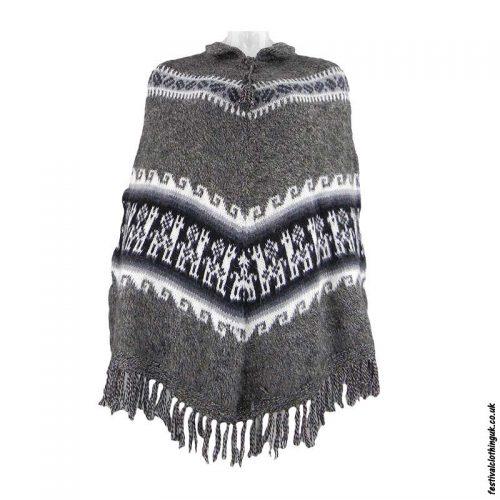 Brown-Alpaca-Wool-Poncho