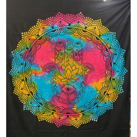 Tie-Dye-Hand-of-Fatima-Throw
