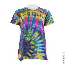Tie-Dye-Short-Sleeve-Festival-T-Shirt--Multicoloured-a