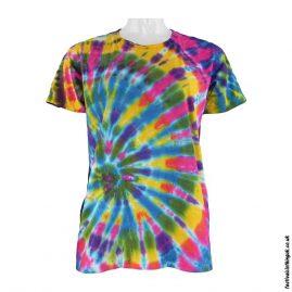 Tie-Dye-Short-Sleeve-Festival-T-Shirt--Multicoloured-b