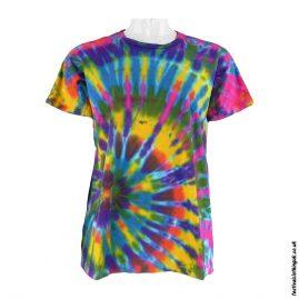 Tie-Dye-Short-Sleeve-Festival-T-Shirt--Multicoloured-c