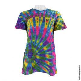 Tie-Dye-Short-Sleeve-Festival-T-Shirt--Multicoloured-e