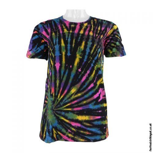 Tie-Dye-Short-Sleeve-Festival-T-Shirt--Multicoloured-n