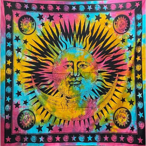 Tie-Dye-Sun-Moon-Throw