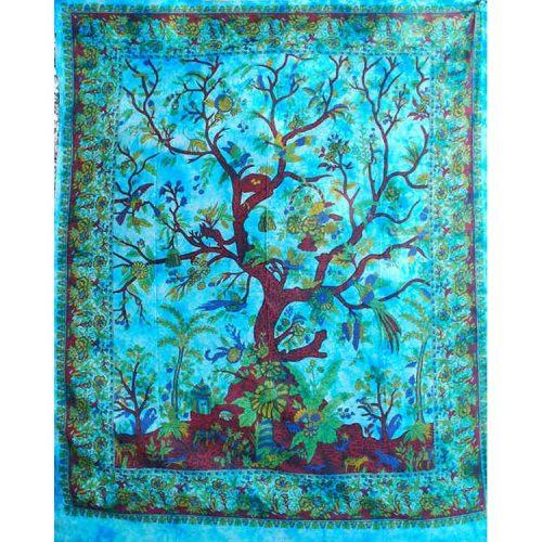 Turquoise-Tree-of-Life-Throw