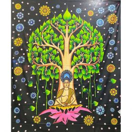 colourful-Buddha-tree-Throw