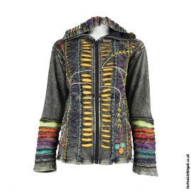 Embroidery-Hooded-Festival-Jacket-Black