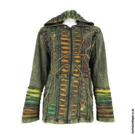 Embroidery-Hooded-Festival-Jacket-Green