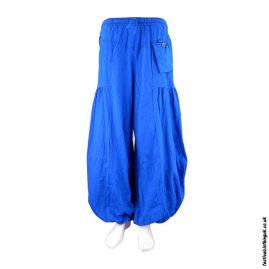 Festival-Baggy-Trousers-with-Elastic-Waist-Turquoise