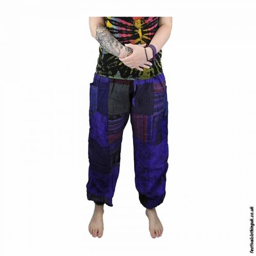 Patchwork-Harem-Festival-Pants-Example