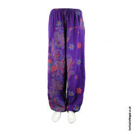 Purple-Cotton-Patterned-Festival-Harem-Pants