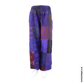 Purple-Patchwork-Harem-Festival-Pants