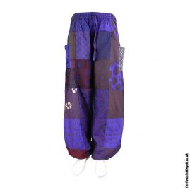 Purple-Patchwork-Harem-Festival-Pants