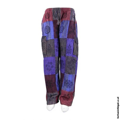 Colourful Patchwork Festival Trousers