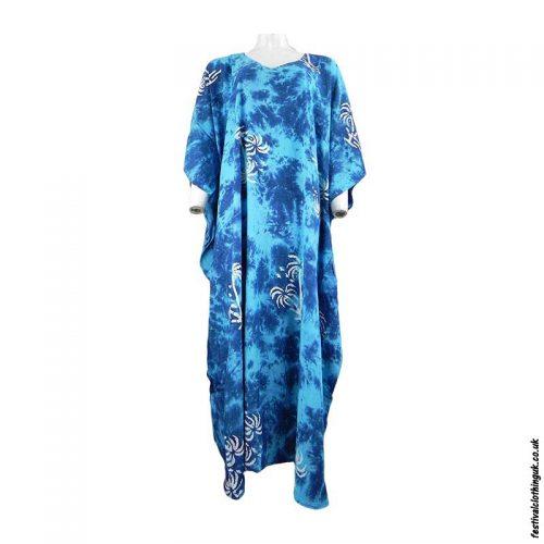 Long-Rayon-Kaftan-Dress-Palm-Tree