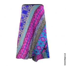 Multicoloured-Festival-Wrap-Skirt