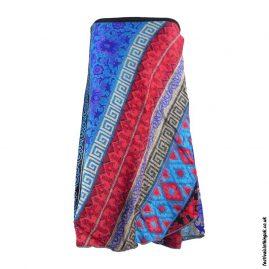 Multicoloured-Festival-Wrap-Skirt