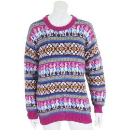 Pink-Patterned-Alpaca-Wool-Festival-Jumper