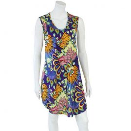 Short-Purple-Tropical-Festival-Dress