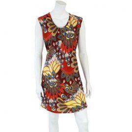 Short-Red-Tropical-Festival-Dress