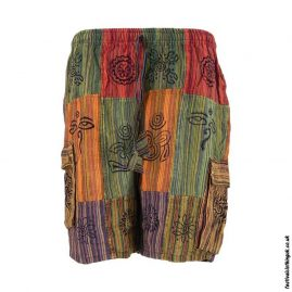 Multicoloured-Cotton-Patchwork-Festival-ShortsMulticoloured-Cotton-Patchwork-Festival-Shorts