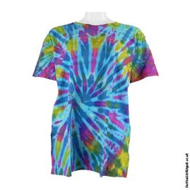 Tie-Dye-Short-Sleeve-Festival-T-Shirt-MulticolouredTie-Dye-Short-Sleeve-Festival-T-Shirt-Multicoloured