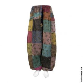 Patchwork-Harem-Bee-Trousers